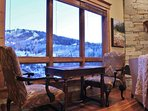 Sitting area in living room at Lookout 12 - Deer Valley