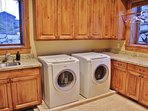 Laundry room at Lookout 12 - Deer Valley