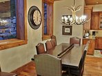 Dining Area with seating for up to 10 in Lookout 22 - Deer Valley