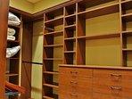 Grand Master Bedroom Closet in Lookout 22 - Deer Valley