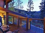 View from deck in Lookout 22 - Deer Valley