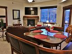 Park City Black Rock Ridge-Dining Room with seating for 6- Park City