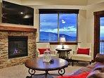 Park City Black Rock Ridge-Living Room with Smart TV, Directv and Fireplace - Park City