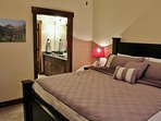 Park City Black Rock Ridge-Master Bedroom with King Bed - Park City