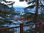 Private Deck view of Deer Valley