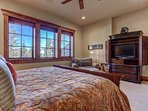 Master Suite 2 with King Bed, TV, Private Bath
