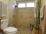 Very spacious shower