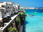 City of Otranto 5 min away by car