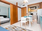 Junior Studio Apartment - Bilocale 44 mq balcone 16 mq - max 4 persone/people-1 bedroom 1 living