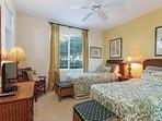 Fairway Villas M3 - Guest bedroom Twin beds