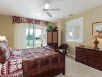 Fairway Villas M3 - Master bedroom with lanai