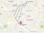 Location of our home. Jemaa el Fna and other treasures of Marrakech are just here.