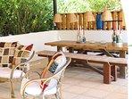 Pergola Dining Table