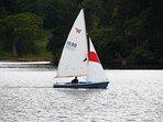 Fun sailing in The Lakes