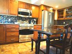 recently remodled kitchen