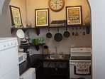 Fully Equipped Kitchen with Washer & Dryer