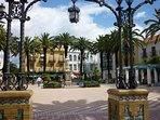 Laguna Square in the charming traditional nearby town of Ayamonte.