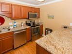 Fully equipped kitchen for all cooking and dining needs