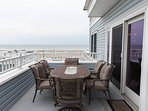 Ocean View balcony with outside furnishing
