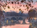 ponte sisto in front of the flat