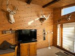 50 inch flat screen smart TV and enjoy the wild life.