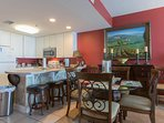 enjoy your meals in beautiful dining room