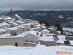 Pueblo de Horche nevado
