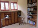 Book shelf in Bedroom 2