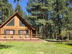 Cabin Sits on 1 Acre and Backs up to 15 Acres of Woods