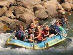 Durango has Class 2 - 5 whitewater rafting options!