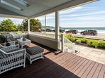 Amazing Oceanfront 5 BR. 4.5BA right on Gooch's Beach! All BR's w/ view of Ocean
