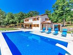 Villa Marron with large pool  and secluded grounds and total privacy.