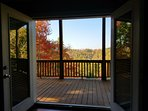 Look forward to waking up to sip your coffee on the spacious deck!