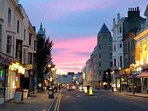 Western Rd, with its restaurants, bars and shops, seconds away at the bottom of your quiet road.
