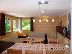 Eat corner - Cook corner - Living room