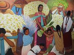 Entry Way - Diego Rivera Mural Painting