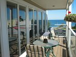 Private balcony downtown St. Ignace