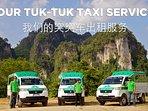 Our tuk tuk taxi service