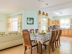 Open plan living / dining
