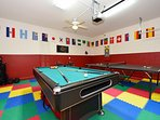 The fabulous game room