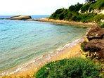 Klimatias beach in rough sea