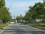Entrance to The Loft Homestay Bukit Indah
