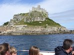 This is a boat ride around St Michaels Mount, lots to see including seals and sharks.