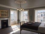 Bedroom 3 (lower floor, king size bed)