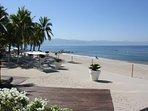 Beach Bar Deck Towards Ocean