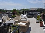 Roofdeck lounge - overlooking Washington Monument & Capitol Building