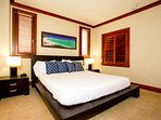 Large Master Bedroom with a King Size Platform Bed and Tempurpedic Mattress