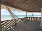 Huge wrap around balcony overlooking the Gulf of Mexico