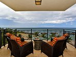 Your Expansive Lanai with Direct Ocean Views