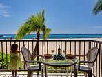 Just Three Steps from the Lanai to the Beach!